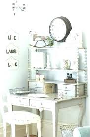 shabby chic office accessories. Chic Desk Chair Shabby Home Office Decorating Ideas Accessories White L