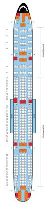 Seat plan 23 august 2020. Boeing 777 300er