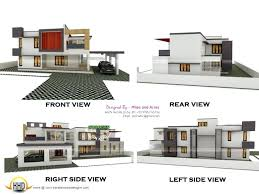 unique front view house plans and rear view house plans picture of elegant modern house plan fresh front view house plans