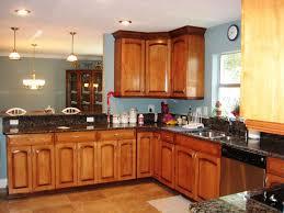 Painting Maple Kitchen Cabinets Kitchen Natural Maple Kitchen Cabinets With Warm Lamp Kitchen