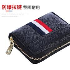 wallet men ultra thin small leather large capacity duo ka wei credit simple multi