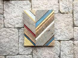 10 easy diy geometric wood wall art