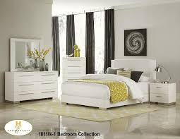 modern 1 furniture. Ultra-contemporary In Design And Scale, The Linnea Collection Will Add Modern Flair To Your Bedroom. Finished High-gloss White, Each Piece Of Suite 1 Furniture D