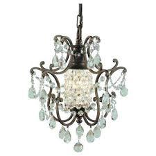 mini bronze crystal chandelier 1 light bronze mini chanlier oil rubbed bronze mini crystal chandeliers