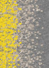 En Route Studio Pattern Yellow and Grey nature