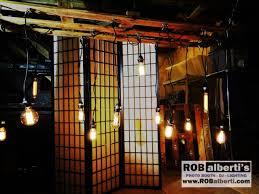 relcaimed wood edison bulb chandelier barn wedding lighting 0 img 8943