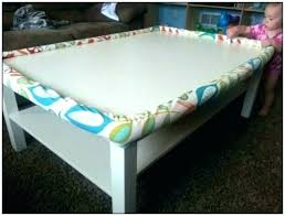 baby proof coffee table child awesome proofing tables glass for prepare diy baby proof