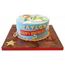 Toy Story Woody Birthday Cake