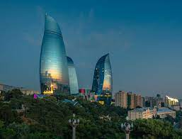 Fire Towers, Baku, Azerbaijan, Azerbaijan