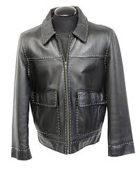 Parasuco Size Chart Store Sample Mens Designer Parasuco Leather Jacket Size