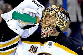 today s creative paint jobs emphasize masks as art such as the mask of bruins goalie