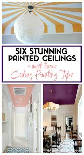 painted ceiling ideas how to paint a ceiling tips for painting a ceiling