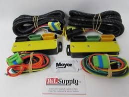 meyer plow lights ebay meyer plow wiring harness genuine meyer snow plow change over light module kit w wiring 07548 07347