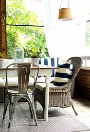 chair farmhouse table with white metal chairs amazing