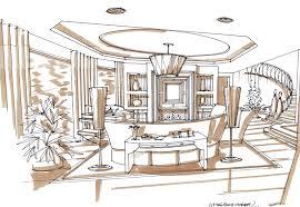 interior designers drawings. Interior Designers Drawings Enchanting Drawingsbhidrendering 750×517 Sketch Pinterest Design Decoration O