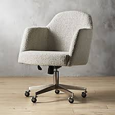 modern office chair. Delighful Office Miles Grey Boucle Office Chair Throughout Modern S