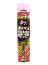 Wax & Shine Furniture Polish With Beeswax 525ml