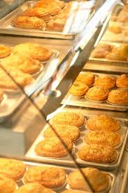 Fresh Baked Pies On Display In Heated Cabinets The Pies Are Always