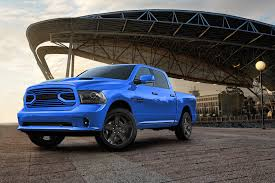 2018 Ram 1500 Sport Hydro Blue edition is one bright pickup truck