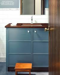 wood vanity top finish bathroom and bar walnut