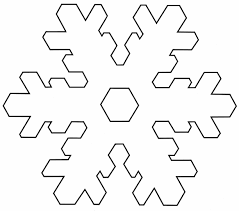 Best Photos Of Template Of Snowflake Large Snowflake