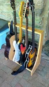 wood guitar racks corporatealliance co wooden guitar stand plans