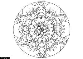 Mandala Coloring Pages For Kids Printable Elephant Free Adults Only