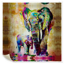 image is loading hd canvas prints unframed watercolor elephant canvas picture  on african elephant canvas wall art with hd canvas prints unframed watercolor elephant canvas picture wall