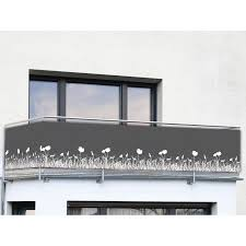 Wenko Balkon Und Terrassen Sichtschutz Anthrazit Kaufen Bei Obi