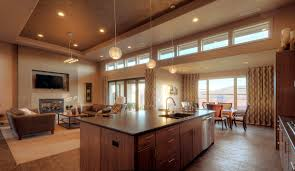 Kitchen With Living Room Design Big Luxury House Plans Images House Interior Also Luxury Home