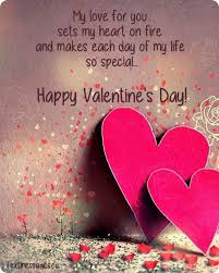 Happy Valentines Day Love Quote My Wishes Quotes For Her Him To The