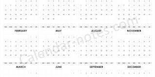 Calendar Quarters 2019 Calendar Quarters Editable 2019 Calendar Template