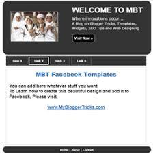 Download Facebook Template Design For Custom Tabs
