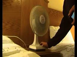 12 micromark desk fan
