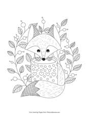 There are 11330 kids coloring sheets for sale on etsy, and they cost $3.76 on average. Fall Coloring Pages Free Printable Pdf From Primarygames