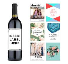 Design Your Own Wine Bottle Labels Custom Personalized Gifts For Wine Lovers Personal Wine