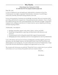 Sample Email Cover Letter For Administrative Assistant – Resume ...