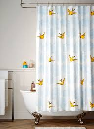 daydream green shower curtain