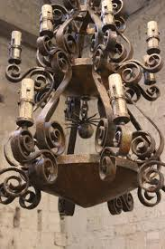 full size of lighting wonderful spanish wrought iron chandelier 5 a spectacular 1950s 57 3 classic