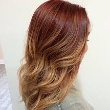 hair dye colour 2015. the trend: pumpkin spice technique: basically just various shades of red hair that dye colour 2015