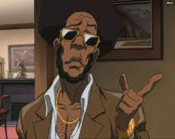 Grandmaster bushido brown, black excellence, boondocks, from maril download gif tele, grand master bushido brown, bushido brown, or share fernsehen, tv, television, the boondocks, huey freeman only speaks the truth. Grandmaster Bushido Brown Explore Tumblr Posts And Blogs Tumgir