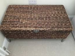 dfs table rattan coffee table chest