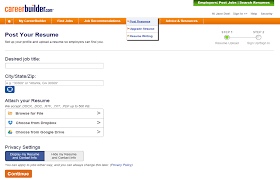 remove my resume from careerbuilder privacy policy careerbuilder