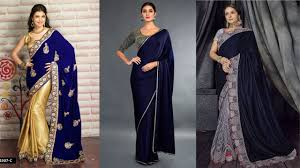 Latest Velvet Saree Designs Mesmerising Velvet Sarees Collection That Will Give A Royal Look