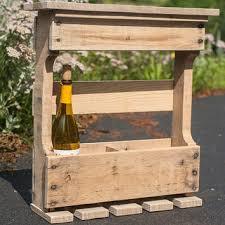 pallet wine rack. Pallet Wine Rack - Reclaimed Wood Rustic