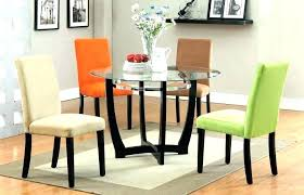 glass top kitchen table set small