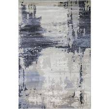 abstract area rug brown modern area rugs50