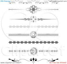 Decorative Line Clip Art Decorative Header Clipart Clipartfest Free Decorative Header