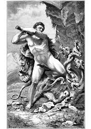 Kleurplaat Hercules En De Slang Afb 11225 Images