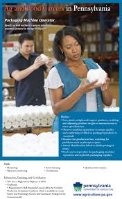 ag career posters lancaster county ag week packaging machine operator